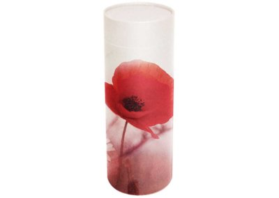 Poppies Scatter Tube